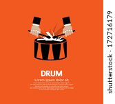 Drum And Drummer's Hand