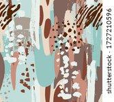 abstract seamless artistic... | Shutterstock .eps vector #1727210596