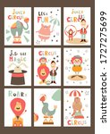 Funny Circus Posters Set  ...