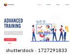 training course vector... | Shutterstock .eps vector #1727291833