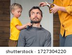 Family Haircut At Home During...
