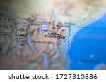 Geographical Map Location Of...
