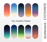 cool gradient palette for ui...