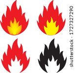 Fire Sign  Flammable Materials...