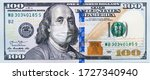 A   100 Bill In A Medical Mask. ...