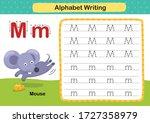 Alphabet Letter M Mouse...