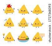 Cute Happy Funny Nachos Set...