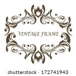 Vintage Floral And Foliate...