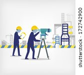 surveyor  | Shutterstock .eps vector #172742900