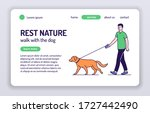 rest nature web banner. young...