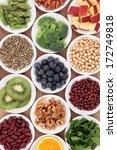 super food health food... | Shutterstock . vector #172749818