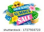 advertising design about summer ... | Shutterstock .eps vector #1727503723