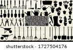 Many Garden Tools In The...