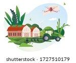 spring and summer. vector...   Shutterstock .eps vector #1727510179