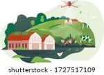 vector illustration of smart... | Shutterstock .eps vector #1727517109