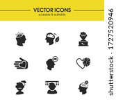 anatomy icons set with geek ...
