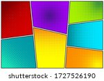 cartoon comic backgrounds set.... | Shutterstock .eps vector #1727526190