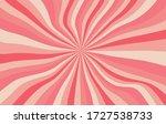 Pink Sunshine Background Vector....