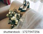 Bride's Bouquet  Shoes  Wedding ...