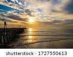 Sunset At Pismo Beach ...