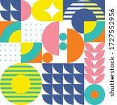 modern abstract geometric...   Shutterstock .eps vector #1727552956