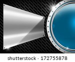 blue and metal abstract... | Shutterstock . vector #172755878