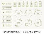set of labels and badges for... | Shutterstock .eps vector #1727571940