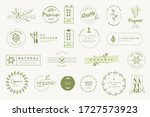 set of labels and stickers for... | Shutterstock .eps vector #1727573923