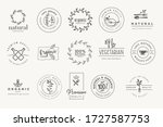 set of stickers and badges for... | Shutterstock .eps vector #1727587753