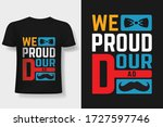 happy father's day typography t ... | Shutterstock .eps vector #1727597746