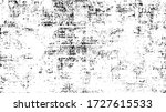 rough black and white texture... | Shutterstock .eps vector #1727615533
