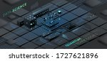 artificial intelligence and... | Shutterstock .eps vector #1727621896