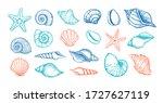 hand drawn vector illustrations.... | Shutterstock .eps vector #1727627119