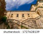 San Giulio Monastery Facade In...