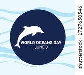 world ocean day campaign. world ... | Shutterstock .eps vector #1727650546