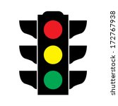 Traffic Light Signal   Vector...