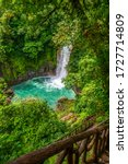 Waterfall And Natural Pool With ...