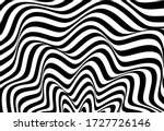 wave shape monochrome vector... | Shutterstock .eps vector #1727726146