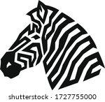 Simple Design Of Zebra Head...