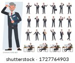 set of old businessman... | Shutterstock .eps vector #1727764903