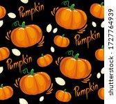 Pumpkin Pattern For Fabric...