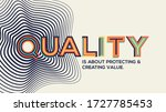 quality quote in modern... | Shutterstock .eps vector #1727785453