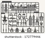 plastic model kits required set ... | Shutterstock .eps vector #172779446
