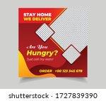 editable social media post for...   Shutterstock .eps vector #1727839390