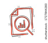financial statement icon in...   Shutterstock .eps vector #1727844283