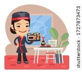 cartoon illustration of a... | Shutterstock .eps vector #1727873473