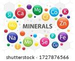 Mineral Supplement Set. 3d...