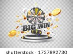 the word big win  surrounded by ...   Shutterstock .eps vector #1727892730