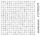 simple set of human icons in...   Shutterstock .eps vector #1727905279