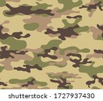 camouflage seamless texture.... | Shutterstock .eps vector #1727937430